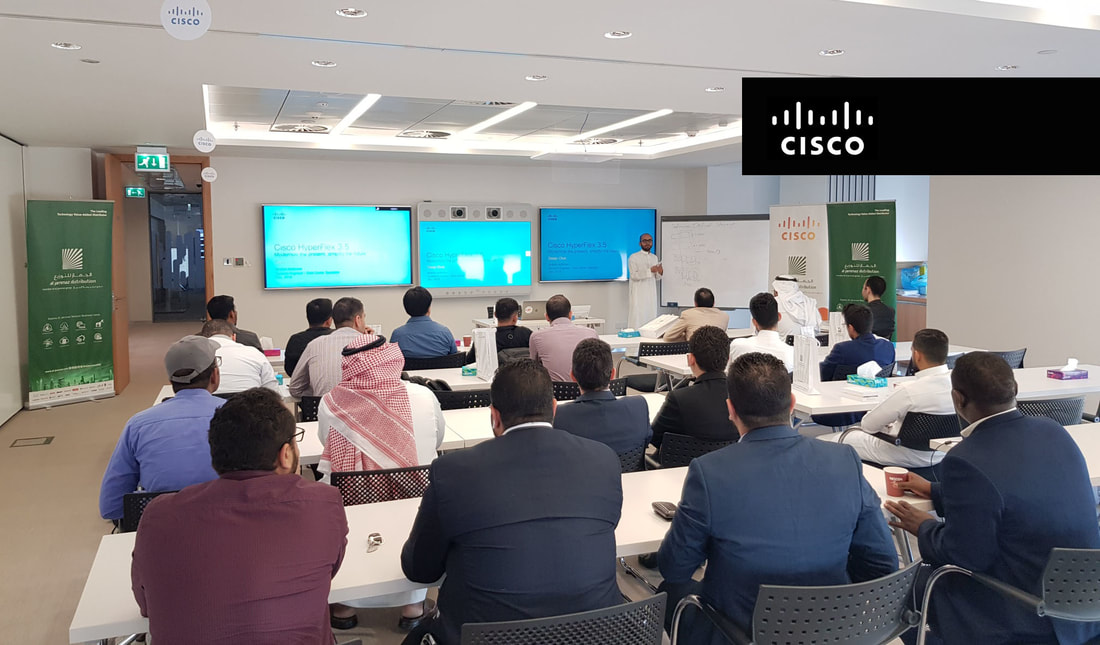 Cisco & AlJammaz HyperFlex Workshop for Partners in Riyadh