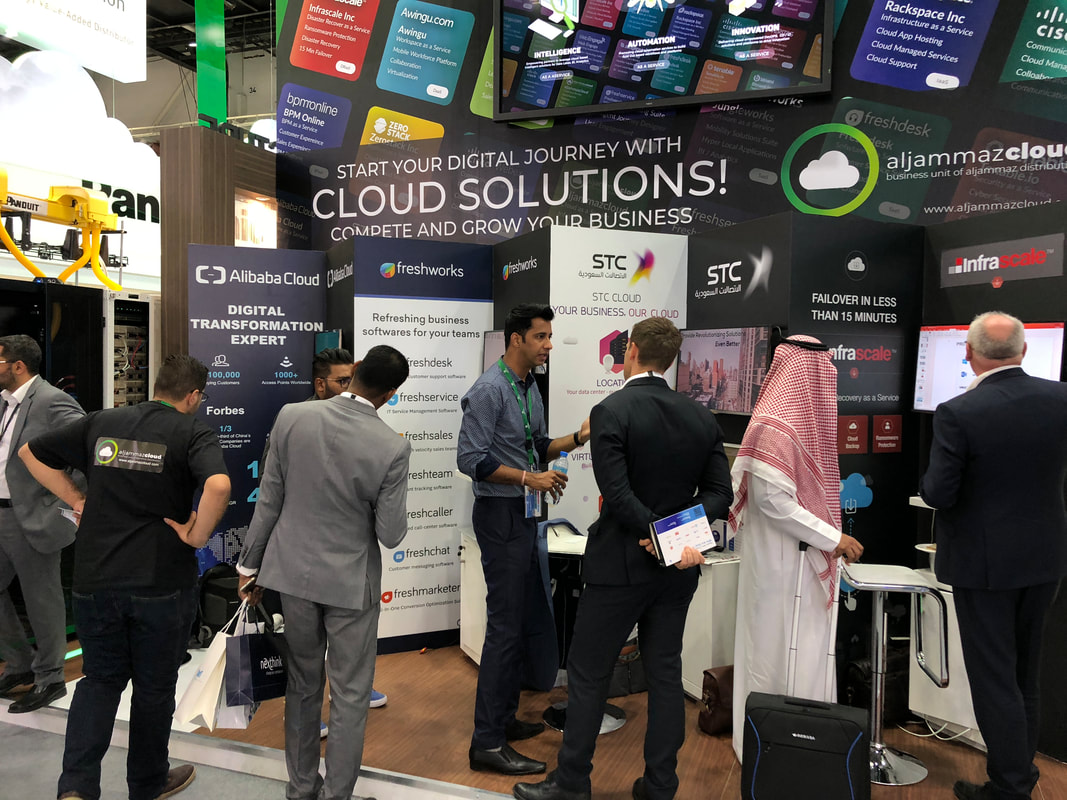 Aljammaz Cloud, participates in 38th edition of Gitex