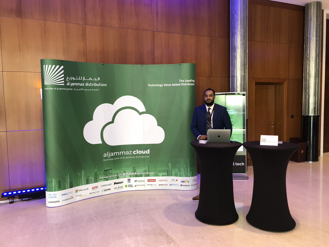 Aljammaz Cloud Sponsored And Participated In The Reseller Margin